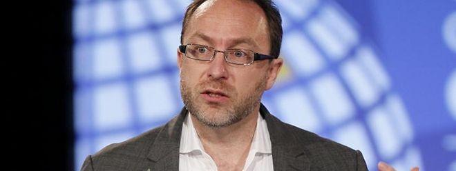 Als Student hat Jimmy Wales die Vision einer Wissensgemeinschaft.