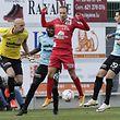 Jonathan Joubert - Omar Er Rafik - Kevin Malget /FC Differdingen 03 - F91 Düdelingen 23.10.2016/ Fussball BGL Ligue  Saison 2016-2017 / Foto: Fabrizio Munisso