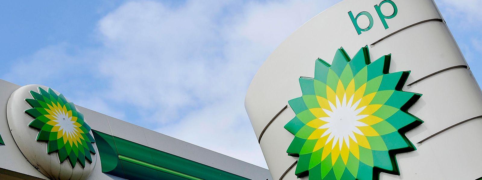 Eine Tankstelle des britischen Ölkonzerns BP.