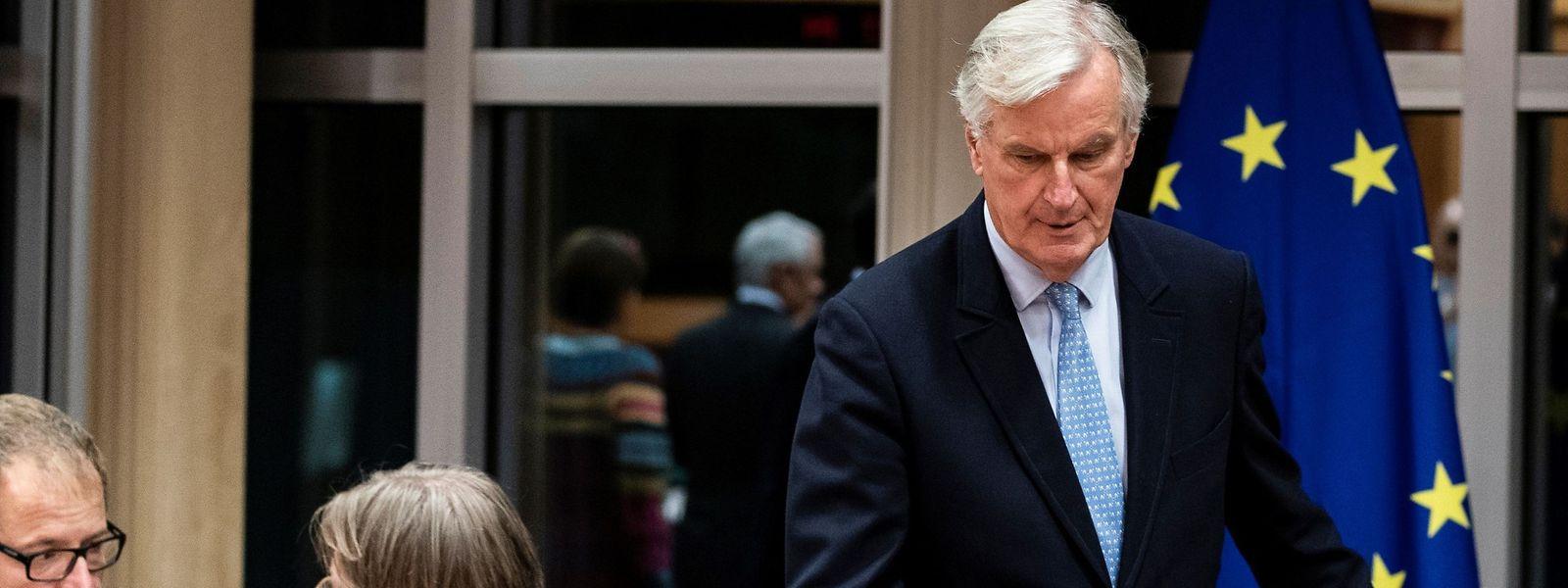 Le négociateur de l'UE, Michel Barnier.