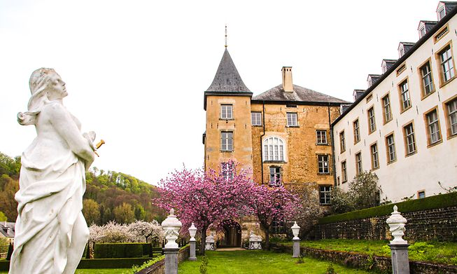 Ansembourg castle and gardens
