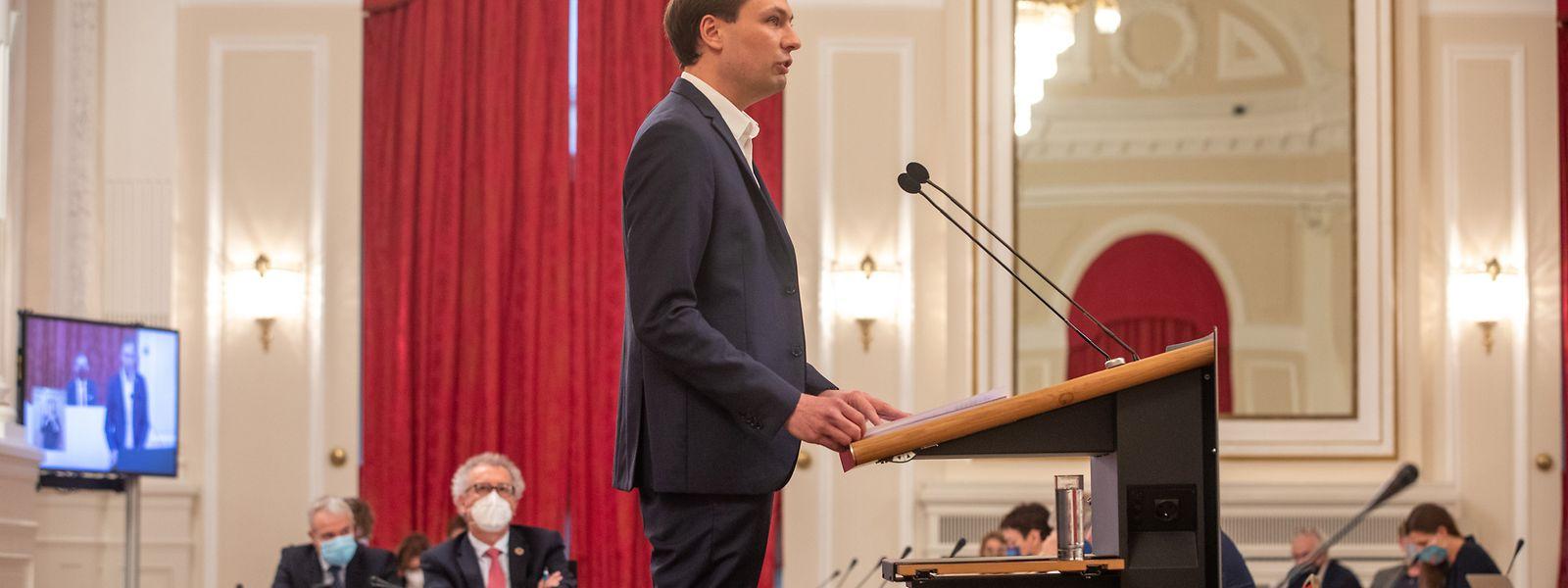 Für Berichterstatter François Benoy soll der Staatshaushalt 2021 nicht nur die coronabedingte Rezession abfedern, sondern einen Paradigmenwechsel in der Haushaltspolitik herbeiführen.