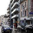 18.11.Gare / Cafe 2000 an Cafe Nice rue Joseph Junck an rue Strasbourg / Fokus Drogenhandel Foto:Guy Jallay