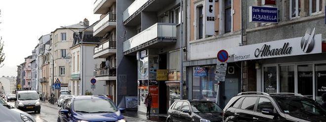 """Die """"Nice Bar"""" in der Rue de Strasbourg wurde infolge der Razzia in Wasserbillig geschlossen."""
