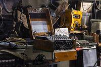 Eine der von den Nazis verwendeten Enigma-Chiffriermaschinen zur Verschlüsselung von Funksprüchen ist in Diekirch zu sehen.