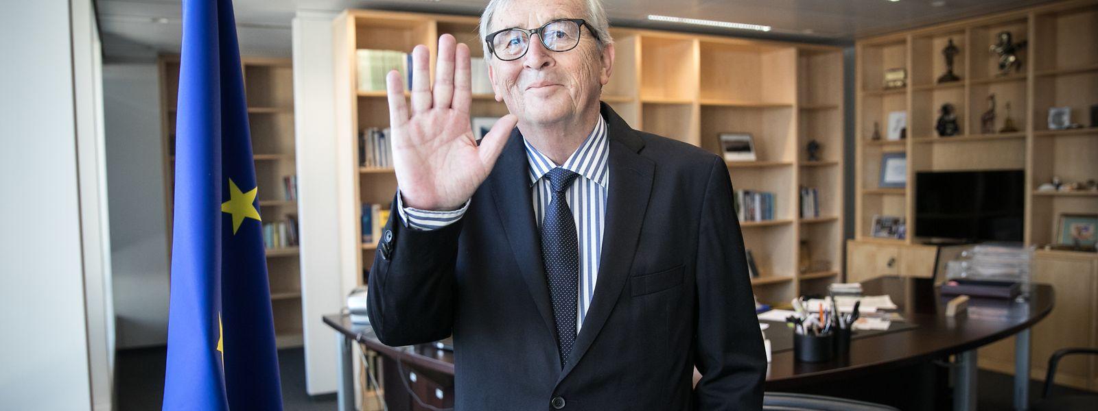 Für Kommissionspräsident Jean-Claude Juncker ist es Zeit, au revoir zu sagen.