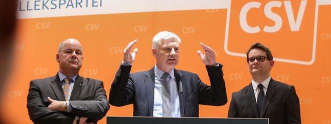 Die Neujahrswünsche der CSV-Spitze vom vergangenen Jahr sind nicht in Erfüllung gegangen.