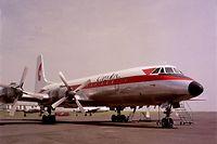 Ce n'est qu'à partir de 1973 que la flotte de Cargolux a commencé à remplacer ses appareils à hélices