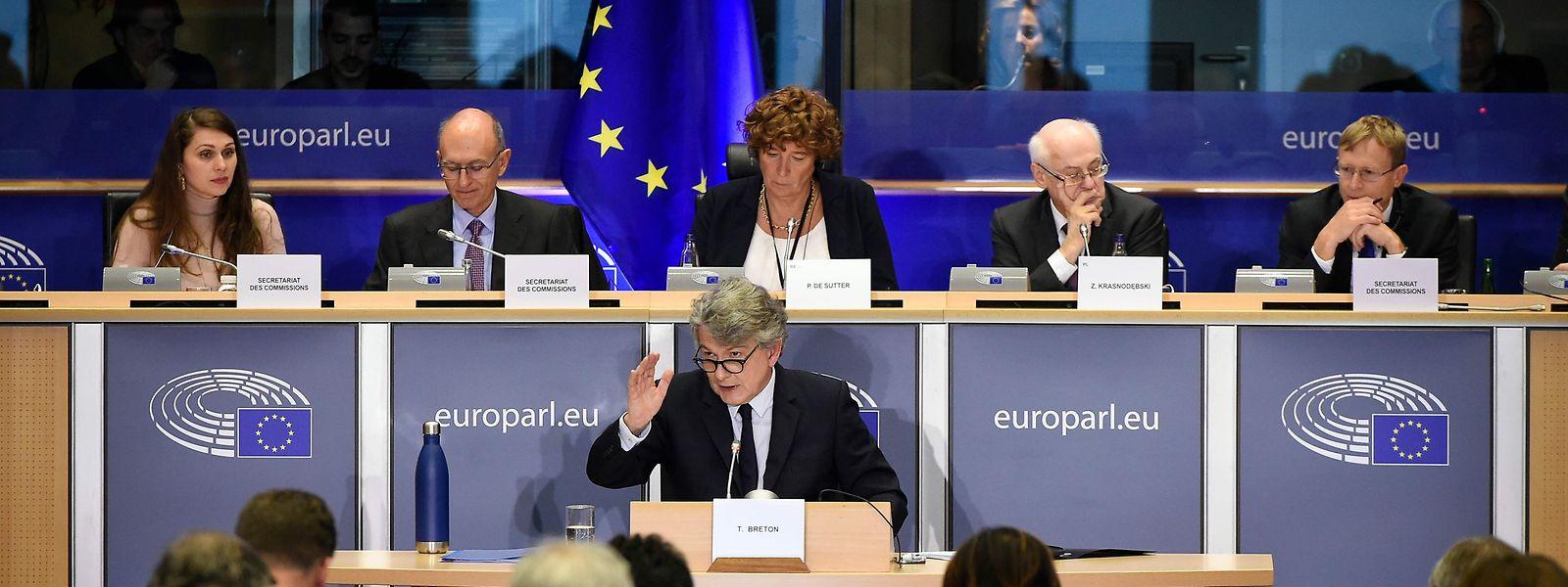 Thierry Breton a promis jeudi devant les eurodéputés d'être «radical» pour éviter les conflits d'intérêts avec son ancienne fonction de PDG du groupe Atos