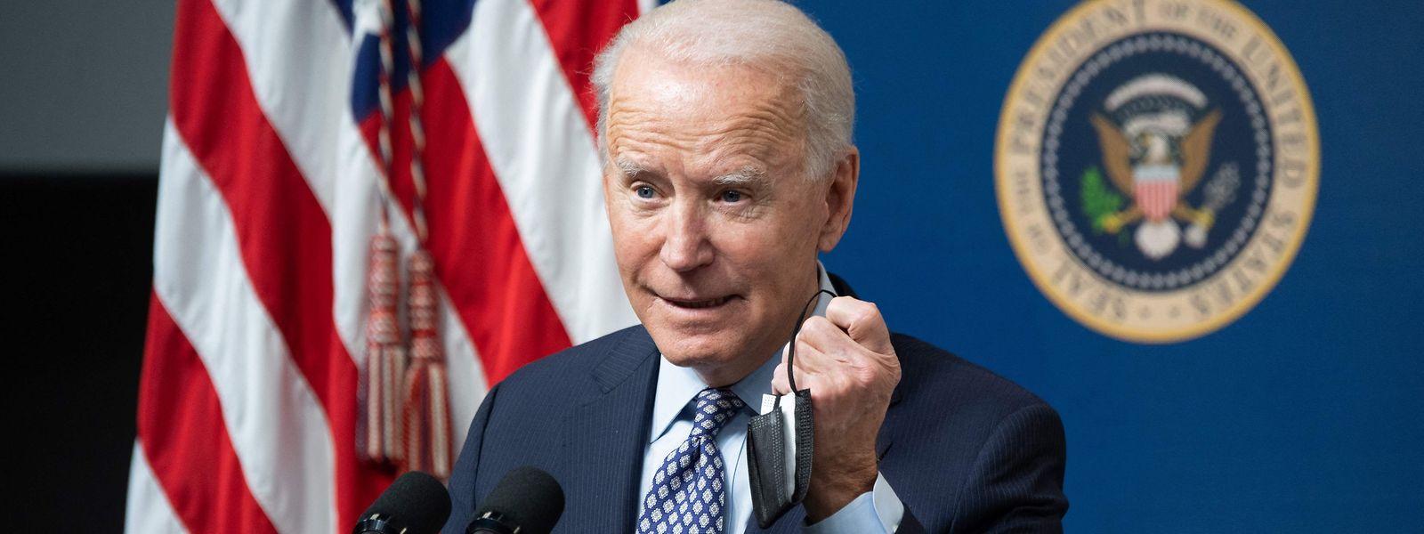 US-Präsident Joe Biden wird wohl nicht seine komplette Agenda im Senat durchbringen können.