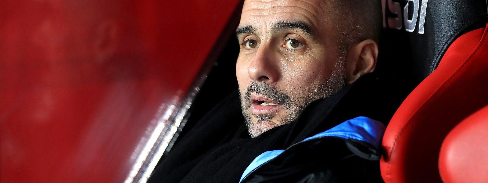 Für Trainer Pep Guardiola und seine Mannschaft ist die Nachricht ein Schock.