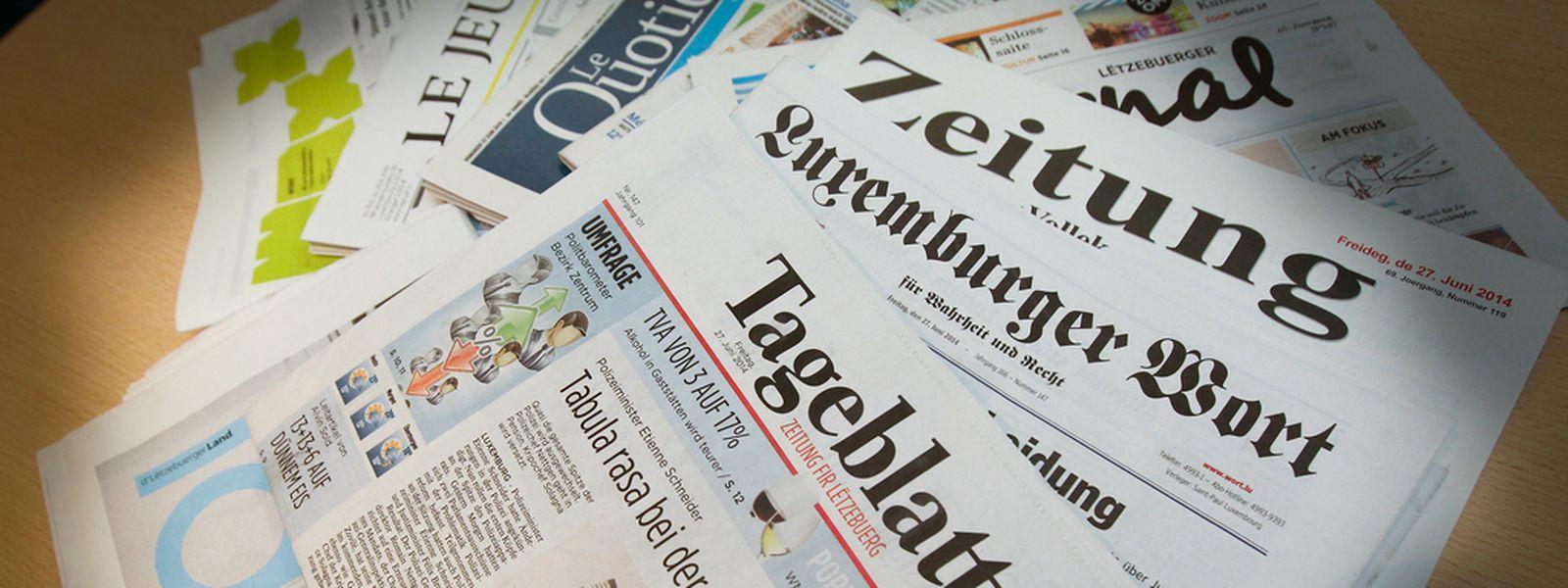Eine Kürzung der staatlichen Pressehilfe nach Vorstellung der Regierung hätte das Aus für vier Zeitungen bedeutet.