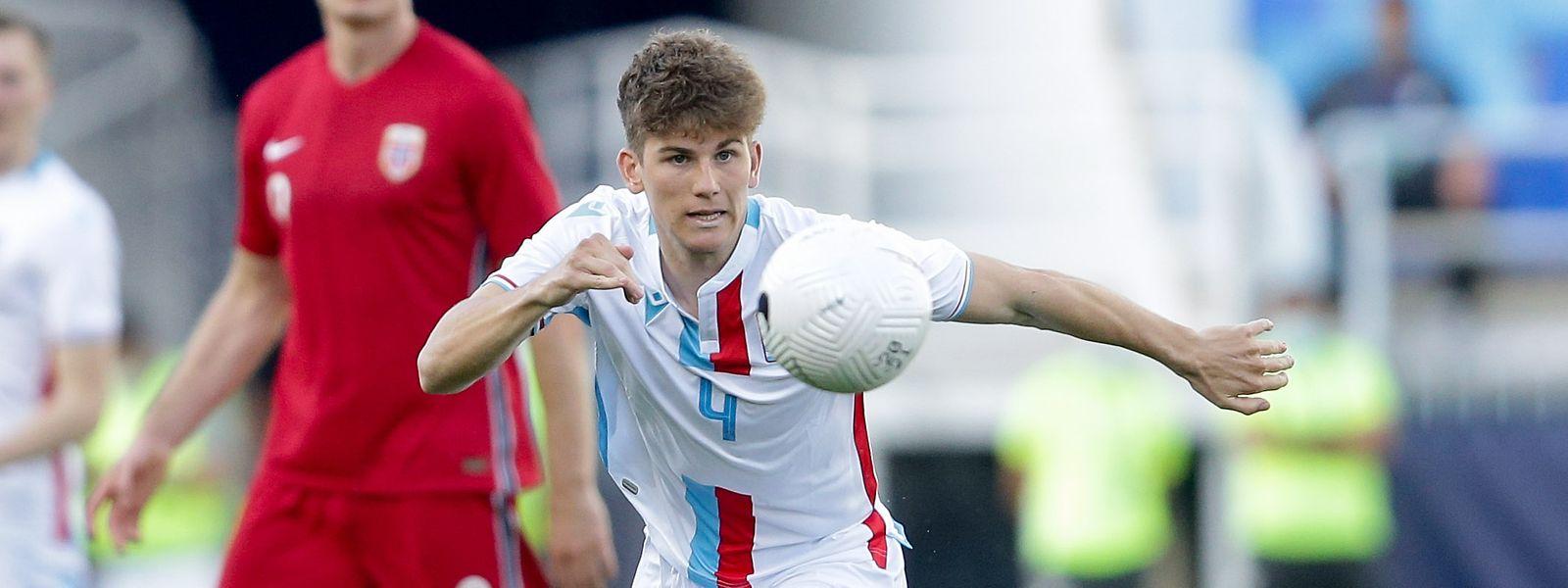 Florian Bohnert will sich in Niederkorn für die Nationalmannschaft empfehlen.