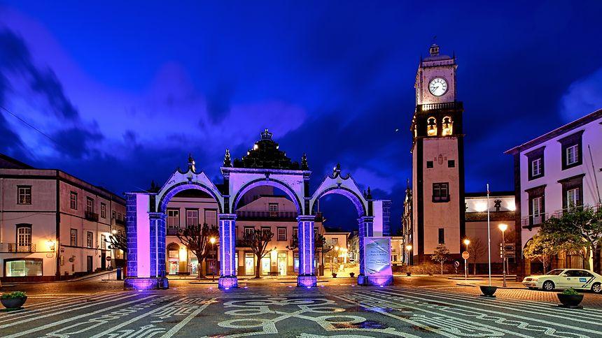 Portas da Cidade, em Ponta Delgada, nos Açores