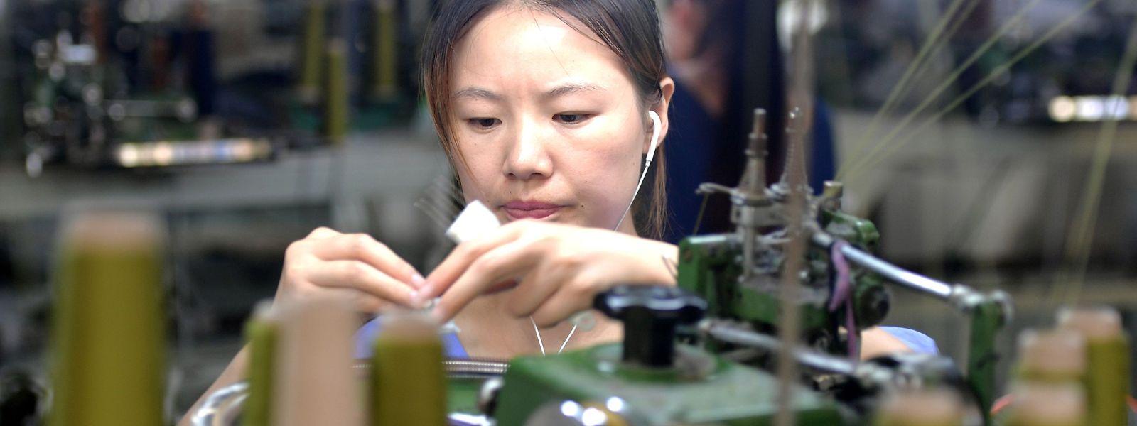 Eine Textilfabrik im chinesischen Xiayi: Hier wird auch für europäische Abnehmer produziert.