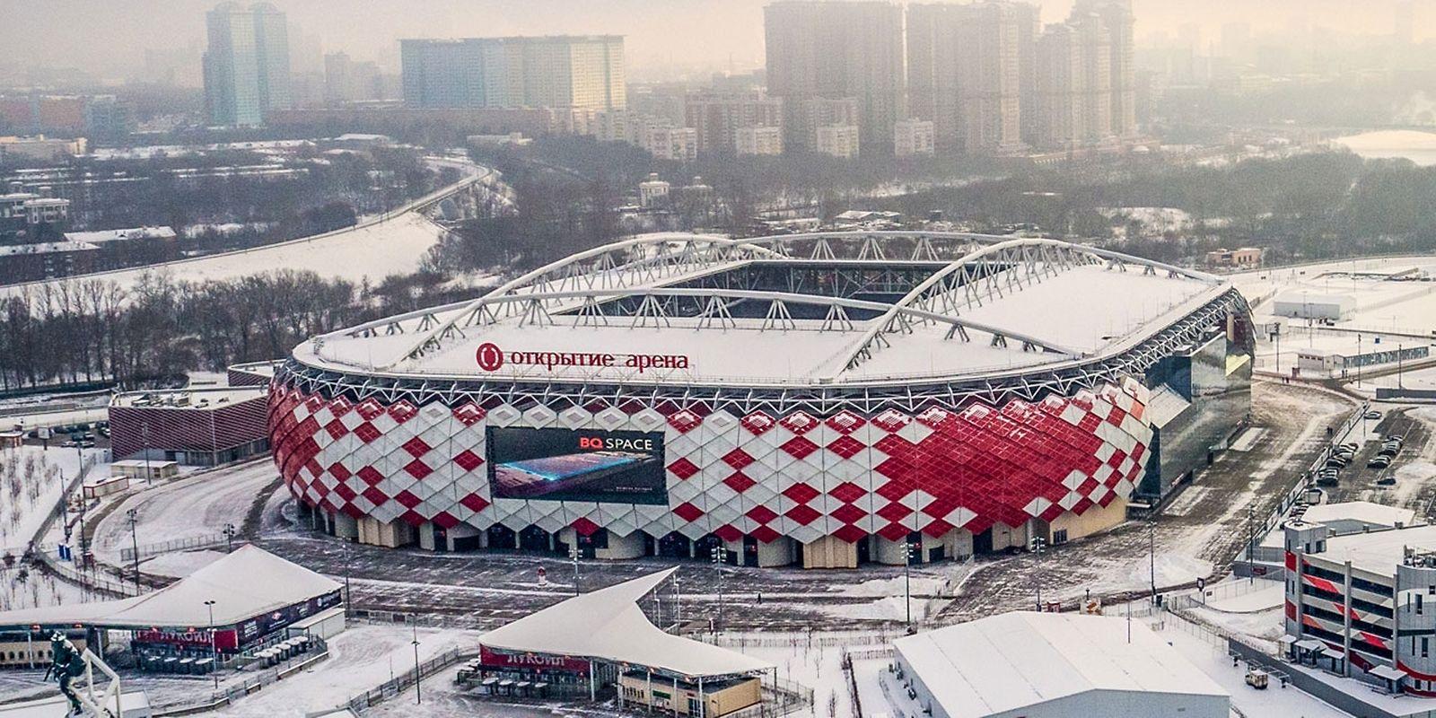 Spartak Arena (45.000 places). Matchs disputés (5): Argentine - Islande (16 juin), Pologne - Sénégal (19 juin), Belgique - Tunisie (23 juin), Serbie - Brésil (27 juin), un huitième de finale (3 juillet)