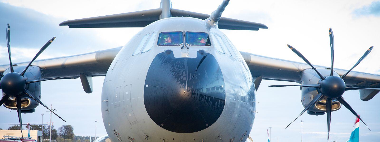 L'appareil avait effectué son premier vol le 14 avril au départ de l'usine de l'avionneur européen à Séville.
