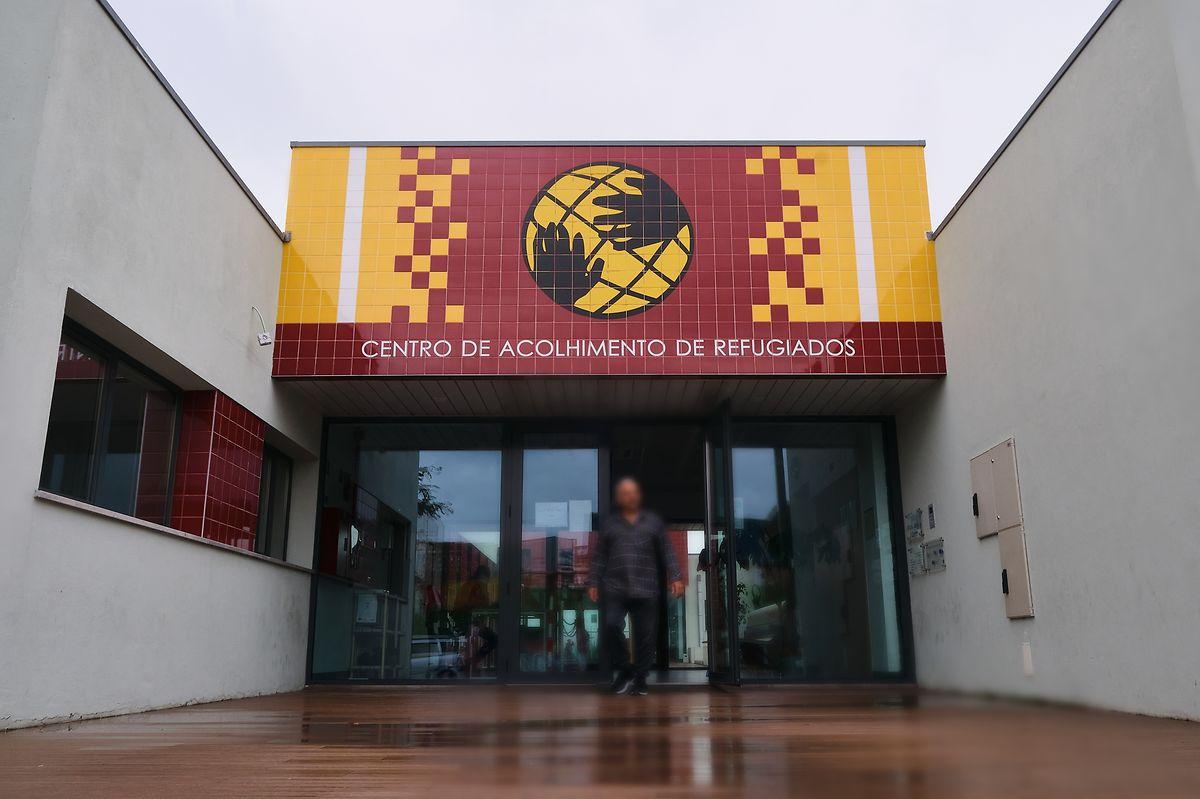 Centro de Acolhimento de Refugiados da Bobadela, em Loures.