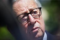 Europawahl 2019 - Juncker gibt Stimme für EU-Wahl ab - Capellen  - Foto: Pierre Matgé/Luxemburger Wort