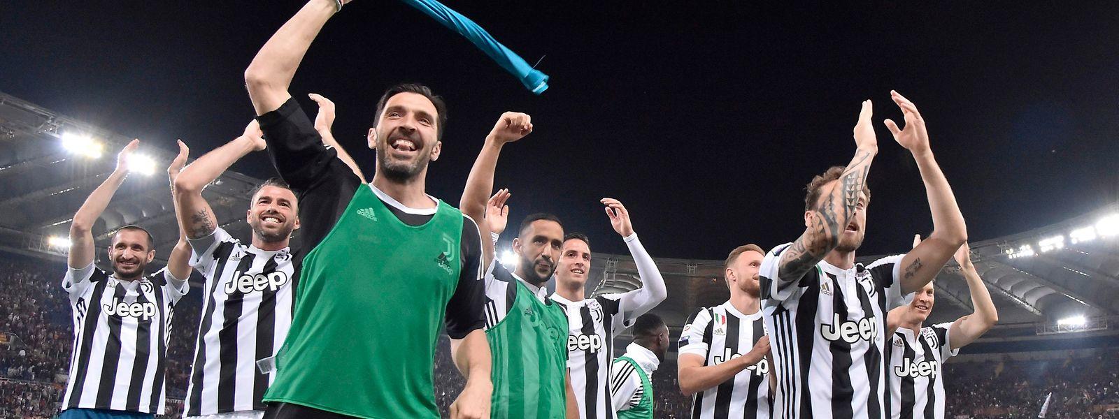Torwart Gianluigi Buffon macht am Samstag sein letztes Spiel für Juventus Turin.