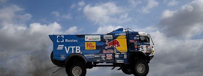 Andrey Karginov foi expulso do Dakar2019.