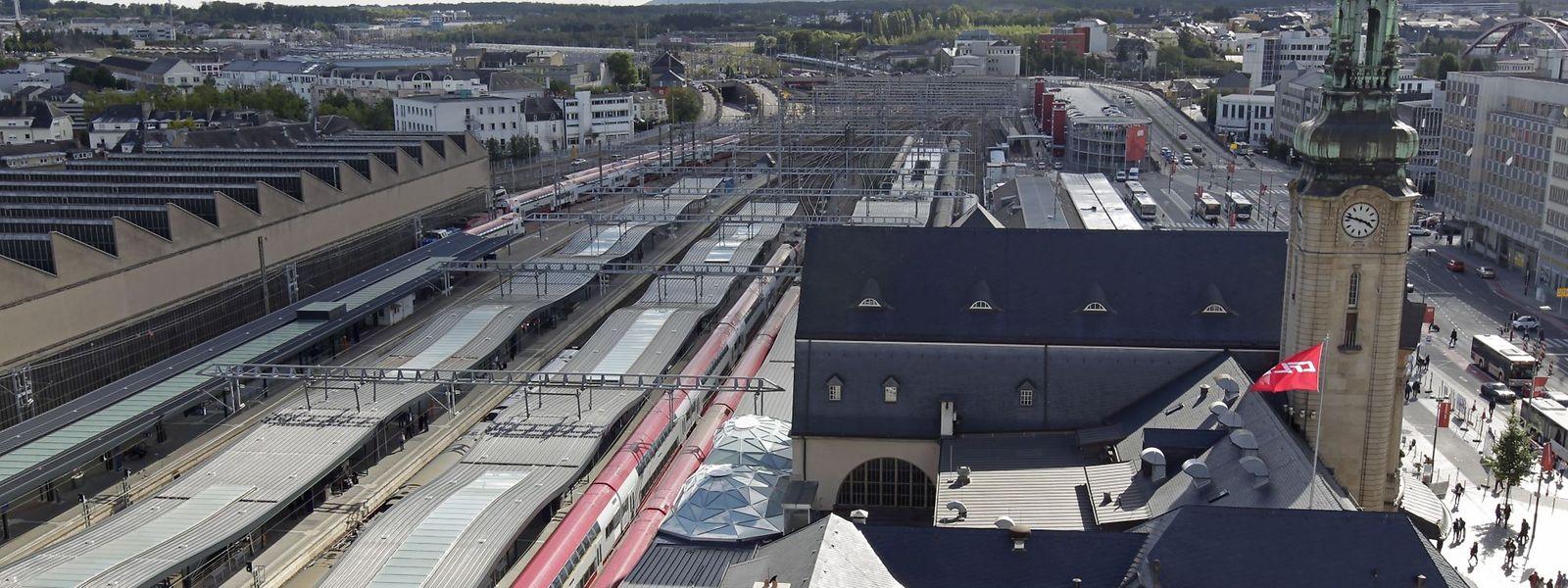 La SNCF peut faire circuler jusqu'à six TER par heure, sur un tronçon également utilisé par les TGV et le fret.