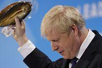 Hier soir, Boris Johnson a encore fait le show à la télé britannique pour soutenir sa propre vision du Brexit.