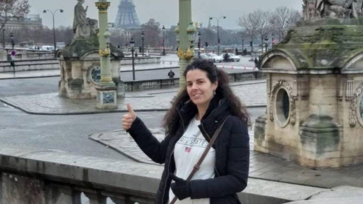 Laura é uma das quatro vítimas da explosão em Paris