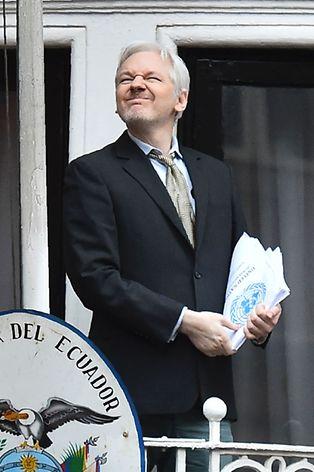 Seit 2012 hat Julian Assange das Botschaftsgebäude nicht verlassen.