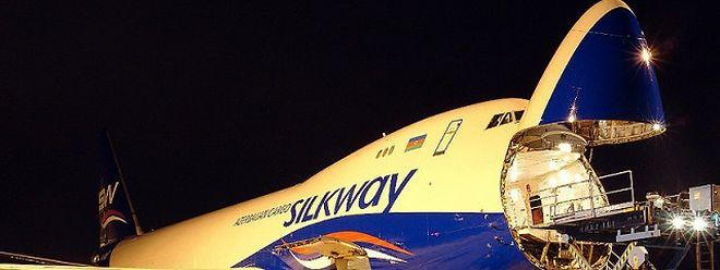 Die Boeing 747-400F übernahm Silk Way Airlines von der Cargolux.