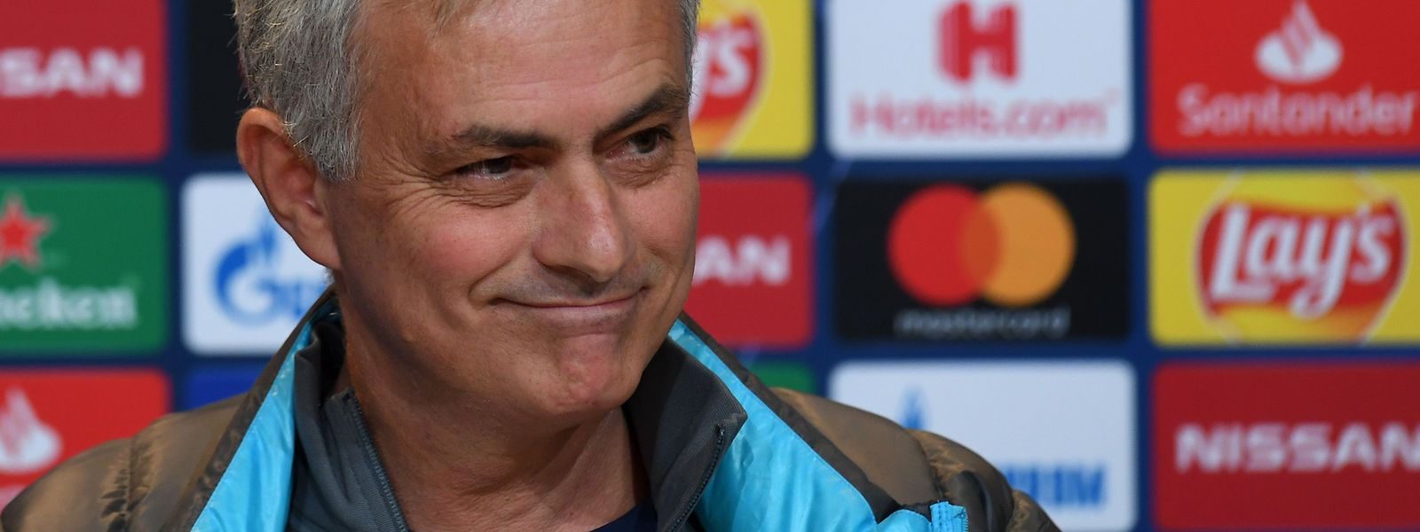 José Mourinho wirkt wie ein anderer Mensch.