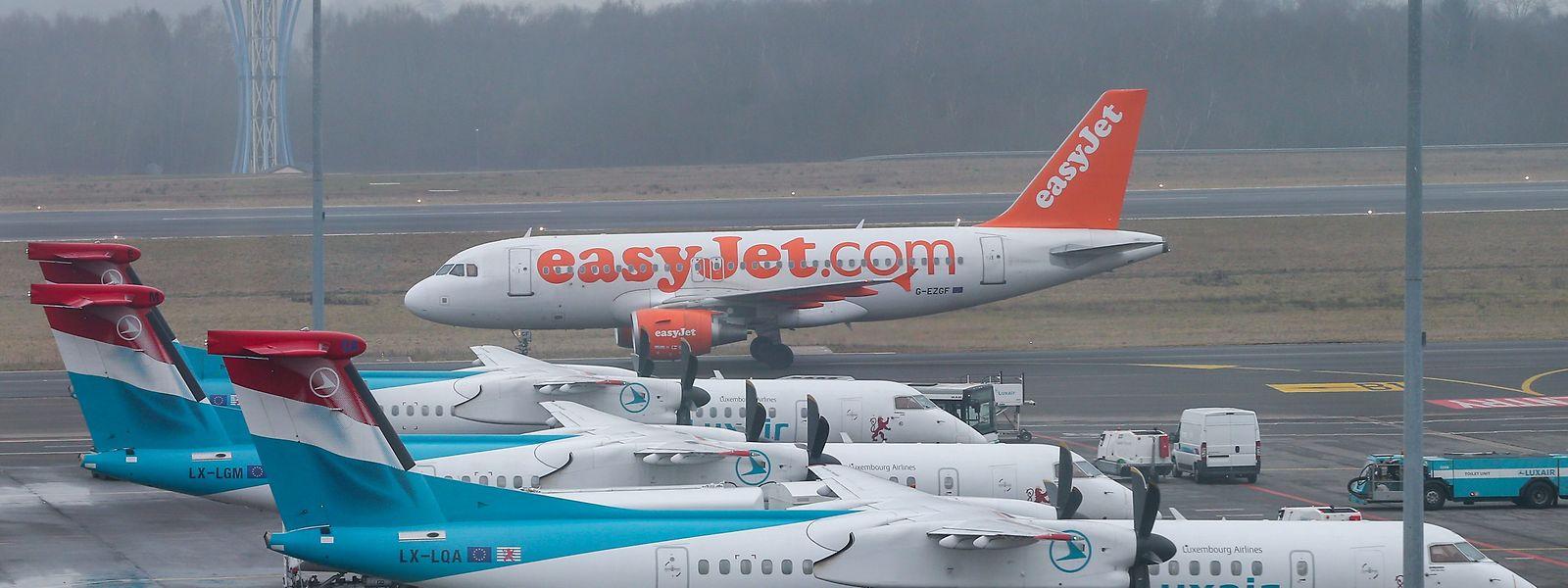 Bislang fliegt vom Findel aus nur die Luxair direkt nach Berlin.