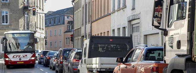 Lange Staus soll es in Zukunft in der Rue Maximilien nicht mehr geben.