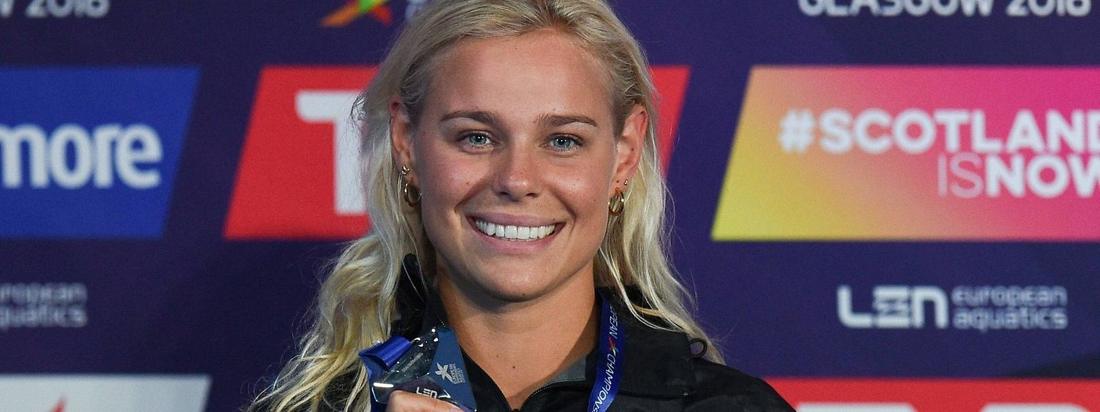 Pernille Blume kommt als Olympiasiegerin nach Luxemburg.