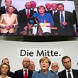 German Chancellor and CDU party leader Angela Merkel addresses supporters after exit poll results were broadcasted on public television at an election night event at the party's headquarters in Berlin during the general election on September 24, 2017. Germany voted in a general election expected to hand Chancellor Angela Merkel a fourth term, while the hard-right Alternative for Germany (AfD) party is predicted to win its first seats in the national parliament. / AFP PHOTO / Odd ANDERSEN