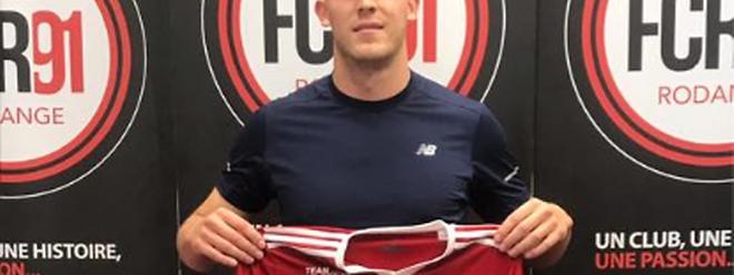 Julien Lacour se plaît manifestement au FC Rodange