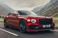 Mit seinem V8-Antriebsstrang hat der Bentley Flying Spur 100 Kilogramm gegenüber dem W12-Modell abgespeckt.
