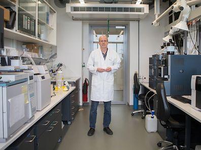 Der Chemiker Serge Schneider vom Staatslabor in Düdelingen ist für toxikologische Analysen in der Rechtsmedizin zuständig.