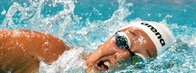 Monique Olivier konnte auch in Budapest den Landesrekord über 200 m Freistil nicht unterbieten.
