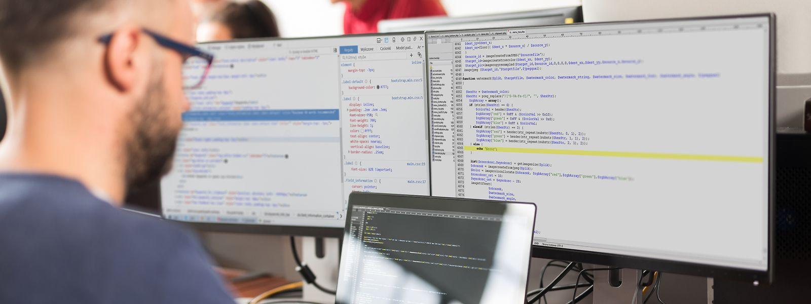 Les spécialistes des TIC sont parmi les profils les plus recherchés sur le marché luxembourgeois du travail.