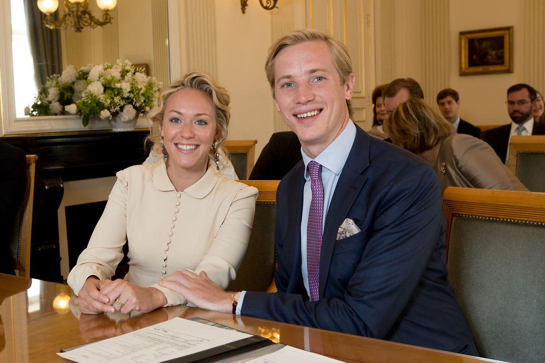 Prinzessin Marie-Gabrielle von Nassau und Antonius Willms gaben sich am Montag das Ja-Wort.