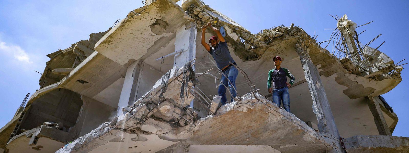 Die UNRWA braucht dringend Geld für den Wiederaufbau im Gazastreifen. Doch der UN-Hilfsorganisation für die palästinensischen Flüchtlinge gehen die finanziellen Mittel aus.