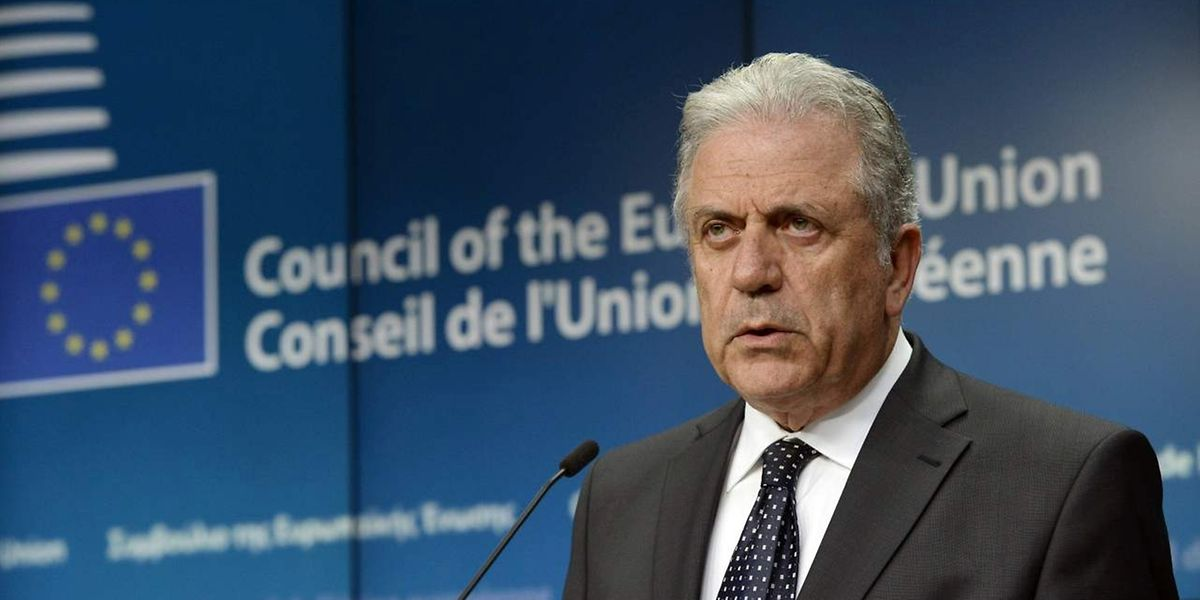 """""""Nationale Behörden dürfen sich nicht abschotten"""", forderte EU-Kommissar Dimitris Avramopoulos."""