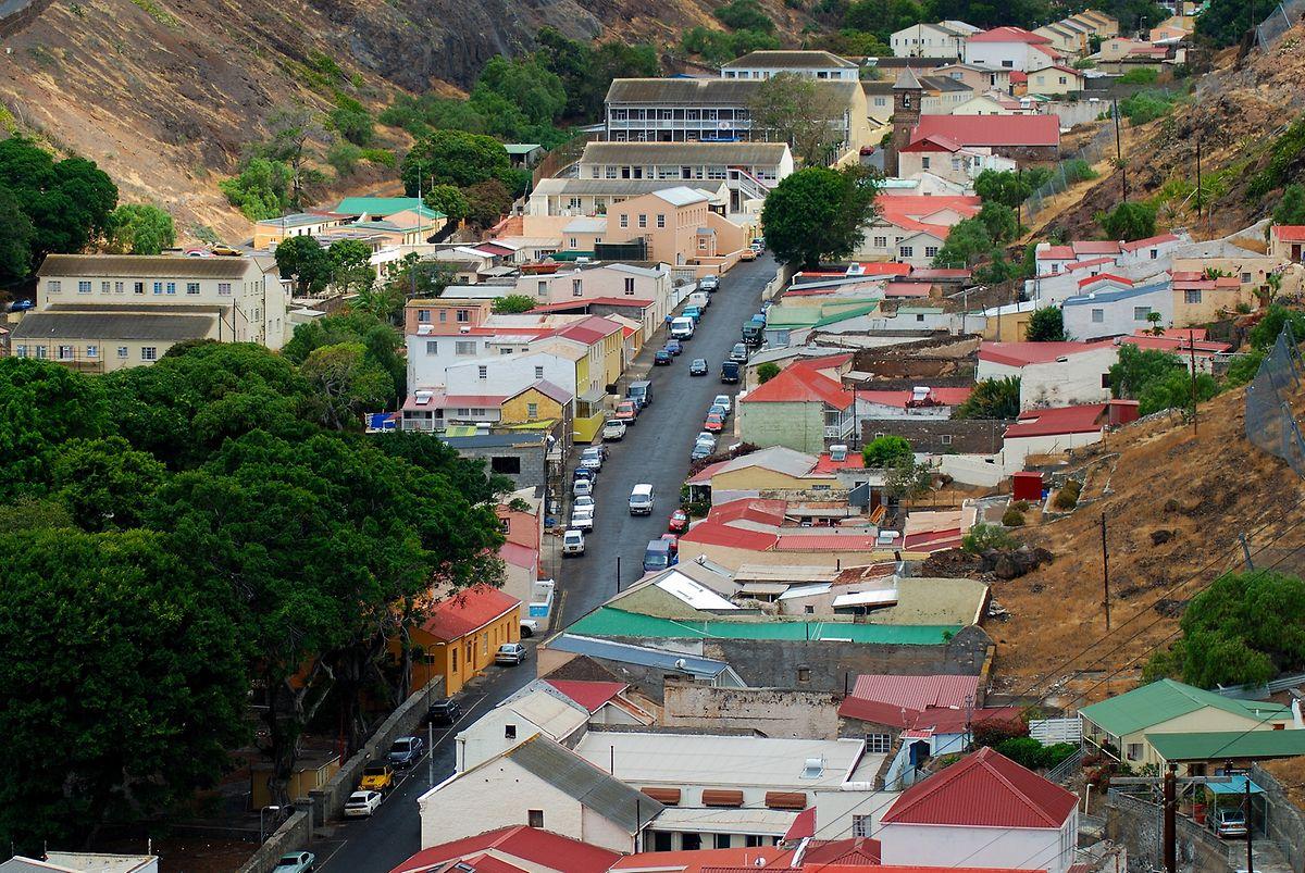 Saint James oder auch Jamestown ist die Hauptstadt von Saint Helena - und ein kleiner, überschaubarer Ort.