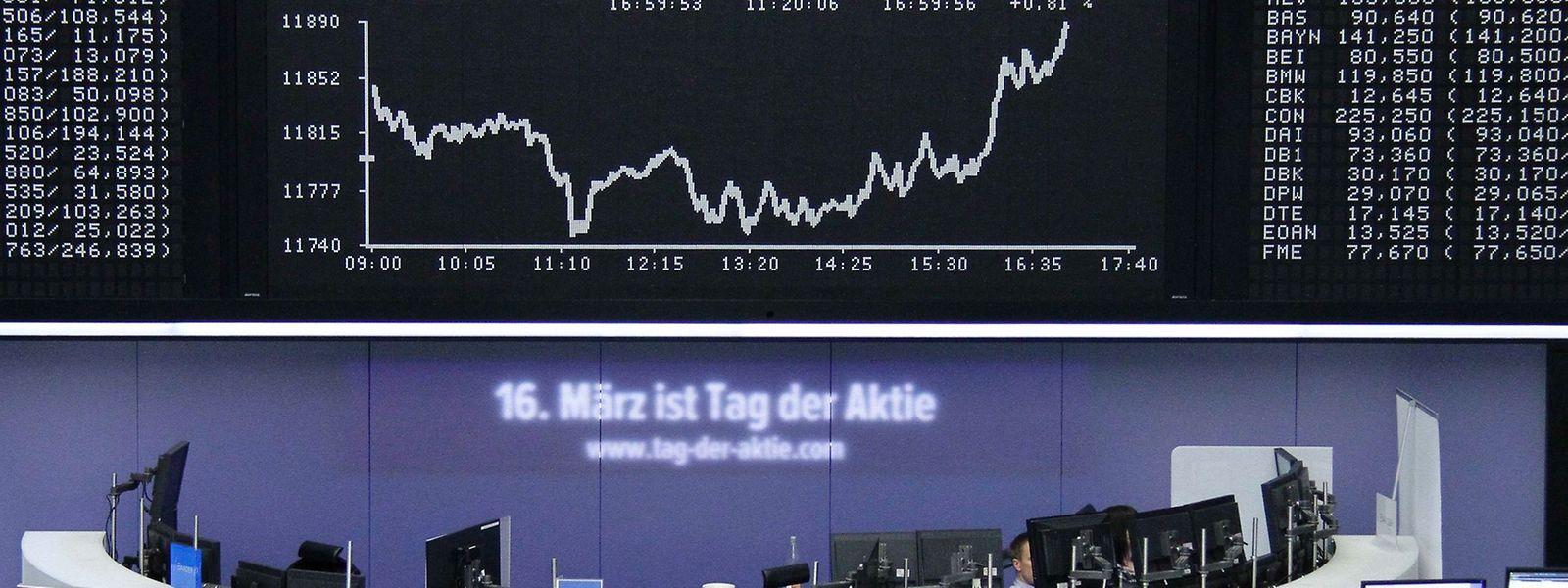 Triebfeder der Rekordrally ist vor allem die Geldschwemme der Europäischen Zentralbank (EZB), die mit ihrem Anleihekaufprogramm einen Billionenbetrag in die Märkte pumpt.