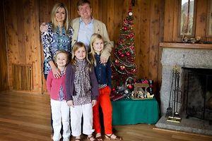 Prinz Willem-Alexander und Prinzessin Máxima mit ihren Kindern in Argentinien.