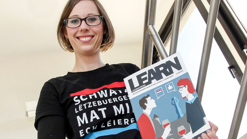 Liz Wenger will be signing her self-learning book in Luxembourg on Saturday