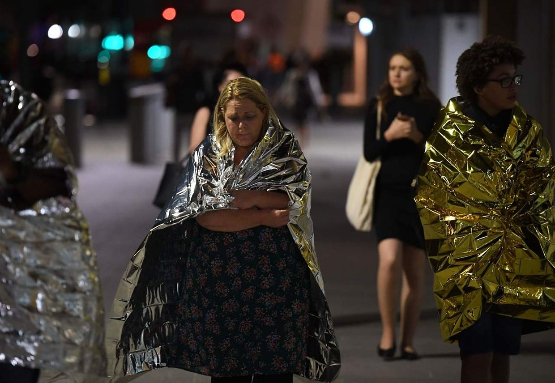 Szenen kurz nach der Terrorattacke am 3.Juni in London.