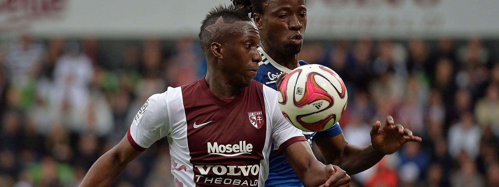 Yeni N'Gbakoto a relancé les Messins en réduisant l'écart à la 78e minute.