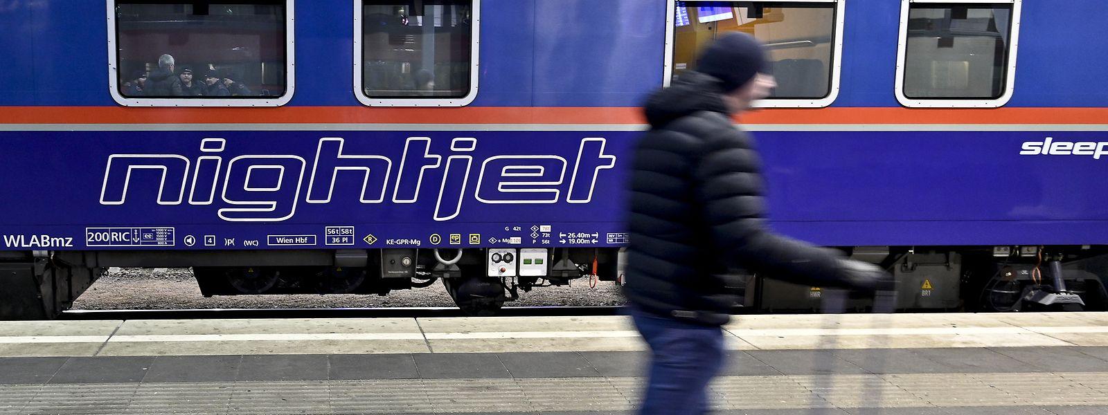 Der neue Nachtzug bewältigt die Strecke von der österreichischen in die belgische Hauptstadt in 14 Stunden.